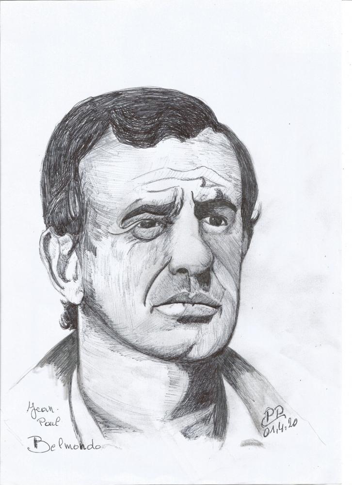 Jean-Paul Belmondo by Patoux